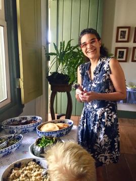Our hostess Chris