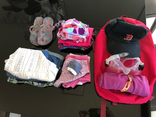Olivias packing