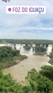 Hundreds of waterfalls