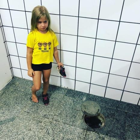 Olivia post sewer hole