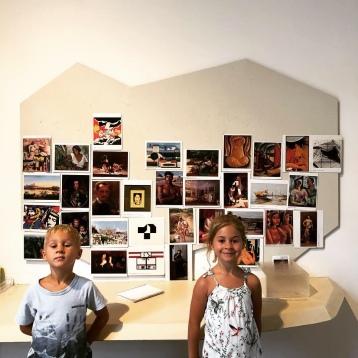 Very proud gallerists