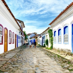 Paraty –  historical gem in Rio de Janeiro