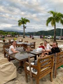 Caipirinhas in the harbour