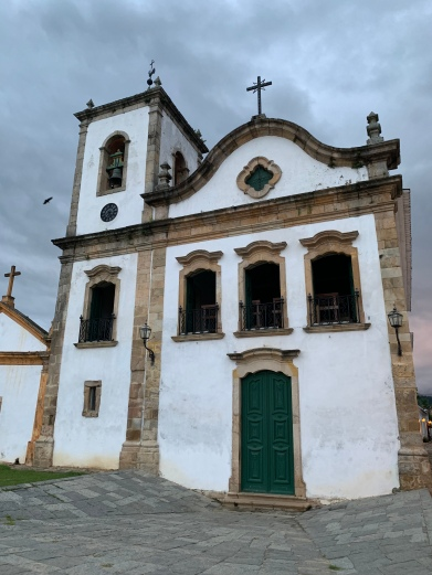 The church Paraty was founded around