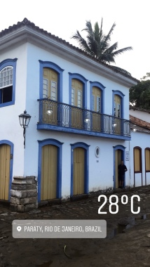 Swedish colors in Paraty
