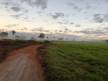 Dirt road to Buraco das Araras