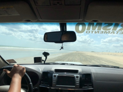 Highway between Jeri and Preá