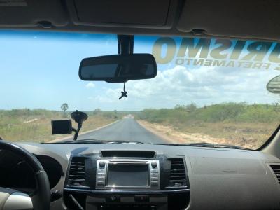 """""""Highway"""" between Fortaleza and Jeri"""