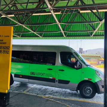 The green shuttle