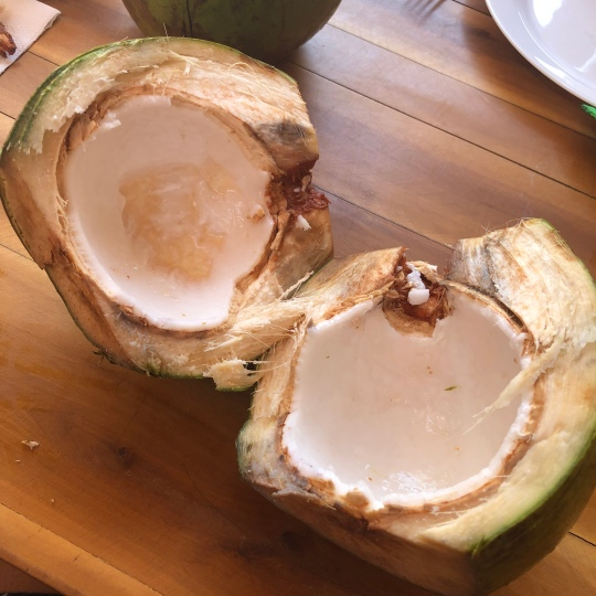 My craving; coconut water