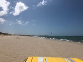 Preá beach highway to Jericoacoara