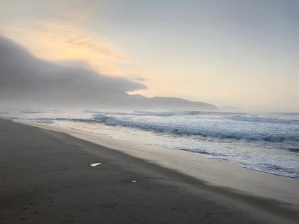 More misty beach